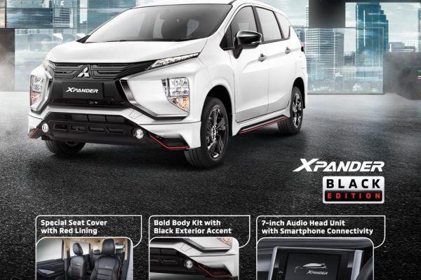 Cuma 1.000 Unit, Ini Detail Mitsubishi Xpander Black Edition