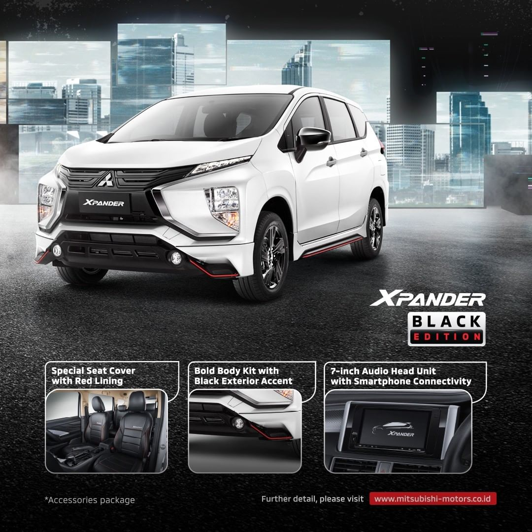 Cuma 1.000 Unit, Ini Detail Mitsubishi Xpander Black Edition